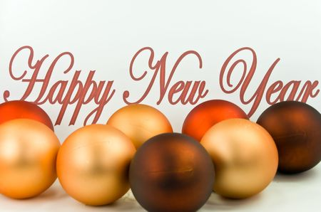 Christmas And New Year' Eve Ornament - Decoration. Stock Photo - 3879515