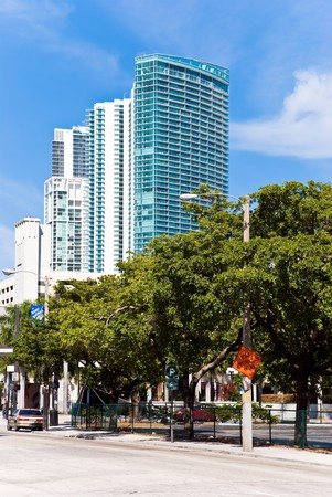 luxury condominiums in the downtown of miami Stock Photo - 4063379