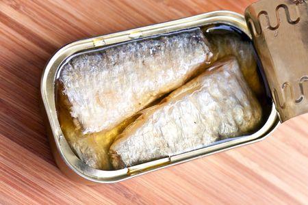 tinned:  Open tinned goods