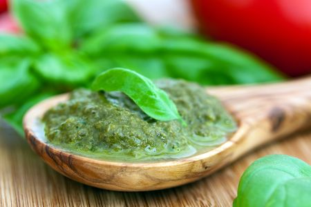 Pesto with Basil Stock Photo - 5410936