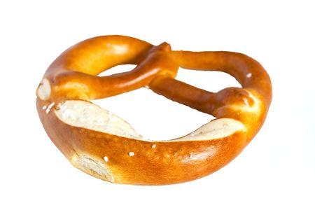 pretzels: pretzels,isolated Stock Photo