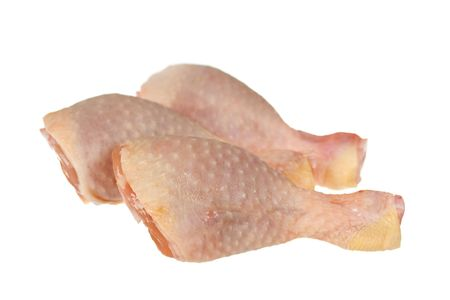chicken leg: Chicken Legs ,isolated on White