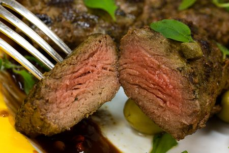 Grilled Fillet-Sirloin of Lamb photo