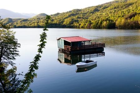 Lake in Serbia,Perucac photo