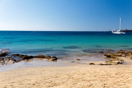 lanzarote: Playa Papagayo Beach,Lanzarote,Spain