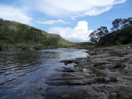 River in the Mountains, Brazil photo