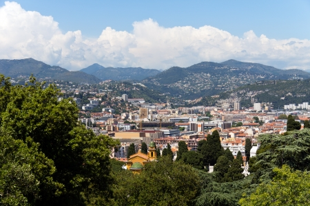 alpes maritimes: Cannes city view, south of France Stock Photo