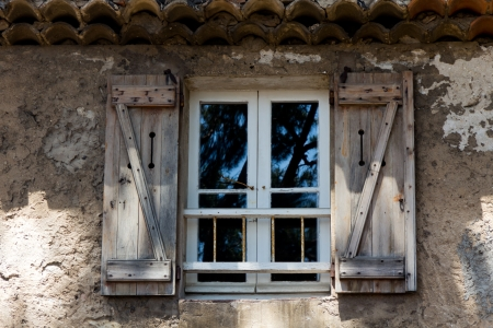 Old Window in the Provence, France photo