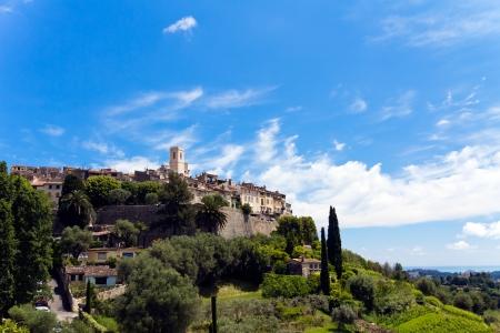 commune: Castle, Provence, France-St Paul Stock Photo