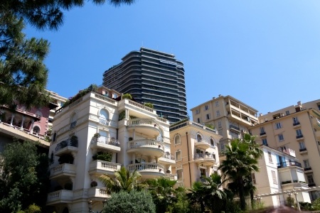 Modern Building in Monte Carlo, Monaco, Tower photo