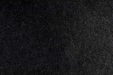 Macro schot van zwarte geweven leder Geschikt voor achtergrond