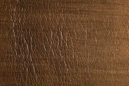 Macro-opname van bruin, gevlekt, getextureerde leer Geschikt voor achtergrond