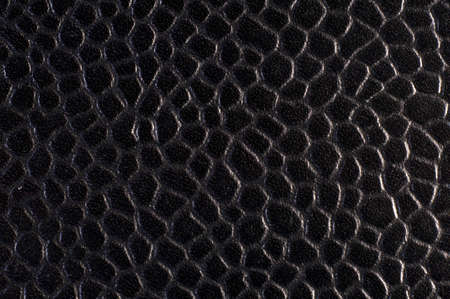 Macro shot blue black textured leather suitable for background