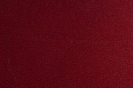 Macro shot of red textured leather  Suitable for background
