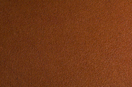 Macro shot of brown textured leather  Suitable for textured background