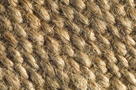 Macro shot of jute webbing, suitbale for textured background