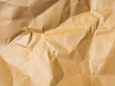 maul: Brown background from paper envelopes.It was a Maul that creased and wrinkles. Stock Photo