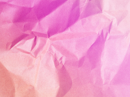 maul: Soft colors pink background from paper envelopes.It was a Maul that creased and wrinkles. Stock Photo