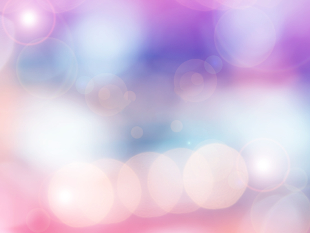 blur effect: Abstract photo of backlight reflector and glitter bokeh lights background. Image is blurred and made with colorful filters.