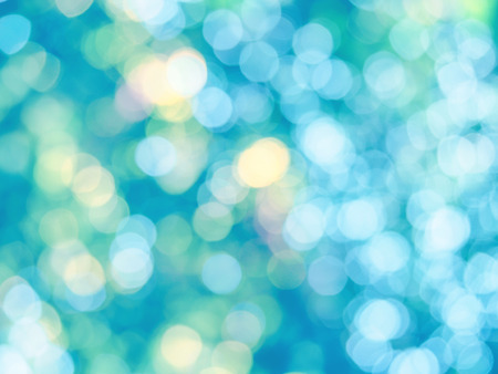 nature abstract: Abstract colorful photo of light  and glitter bokeh lights background. Image is blurred and made with colorful filters. Stock Photo