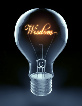 light source: lightbulb with creative light source represent wisdom and idea