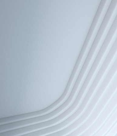 mimic: abstract white geometry  render background mimic architecture element