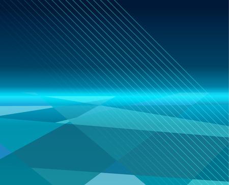 abstract  technology blue digital landscape represent technology background