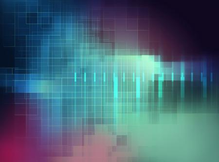 färgrik geometrisk galler och oskärpa abstrakt bakgrund Stockfoto