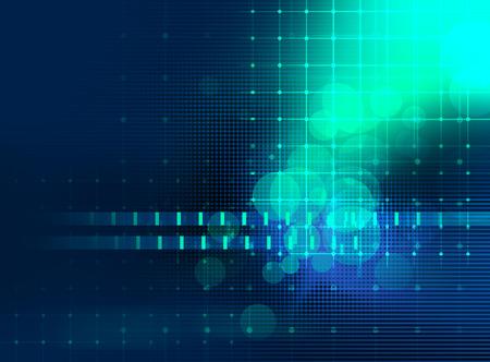 kleurrijke geometrische raster en blur abstracte achtergrond voor gebruik als technologie of wetenschappelijke concept Stockfoto