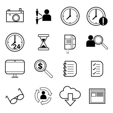 freelance: concept of outsourcing work, freelance work, and talent search for human resource infographic Illustration