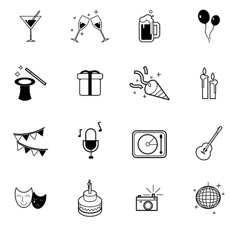 icons set vector illustration For Mobile, Web And Applications
