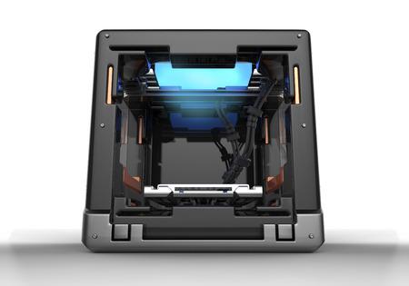 3d rendering  of  conceptual  design 3d printer