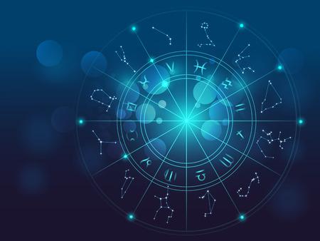 Telón de fondo de diseño de símbolos sagrados, signos, geometría y diseños para proporcionar elemento de apoyo para las ilustraciones en la astrología, la alquimia, la magia, la brujería y la adivinación del futuro