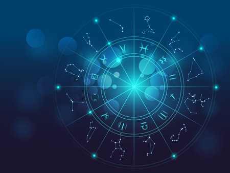 projektowanie tło świętych symboli, znaków, geometrii i wzorów do dostarczenia elementu za ilustracje w astrologii, alchemii, magii, czarów i wróżb