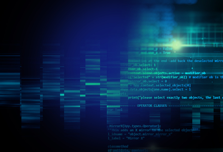sourcecode: digital code number abstract background, represent  coding technology and programming languages.