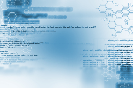 fine detail: digital code number abstract background, represent  coding technology and programming languages.