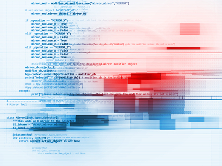 Programming code abstract technology background of software developer and  Computer script 免版税图像