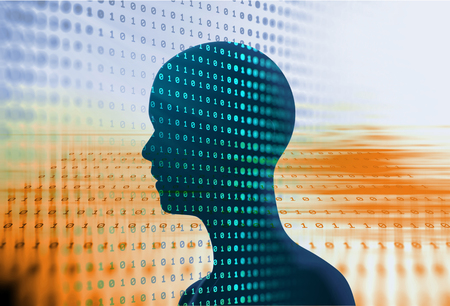 sourcecode: digital code number abstract background, represent  coding technology and programming languages.   Stock Photo