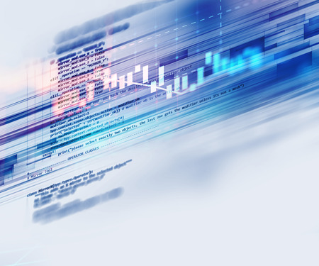 css: Programming code abstract technology background of software developer and  Computer script Stock Photo