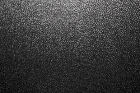 leather background: Black modern  leather