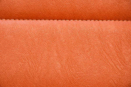 red leather texture: Stylish red leather texture with seam