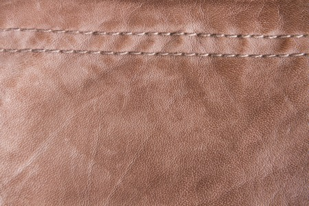 seams: Texture  Background of stylish leather with seams