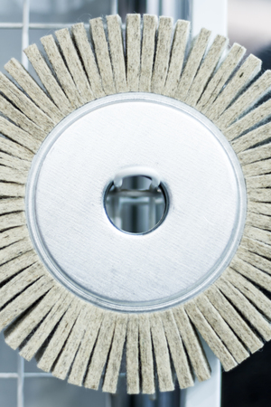 abrasive: Abrasive grinding wheel for the heavy industry Stock Photo