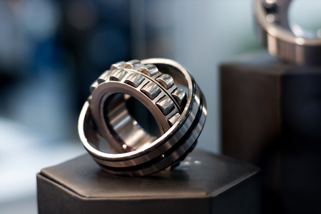 bearing: Cylindrical bearing with bokeh background
