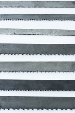 Pattern of metal saws for heavy industry Фото со стока