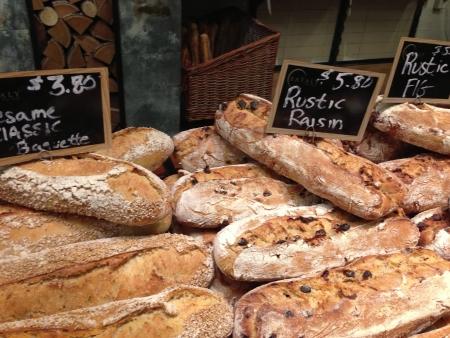 Artisan breads Фото со стока