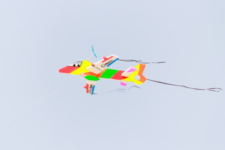 the kite alone  on sky photo