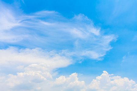 but: Clouds and sky but over time but not today. Stock Photo