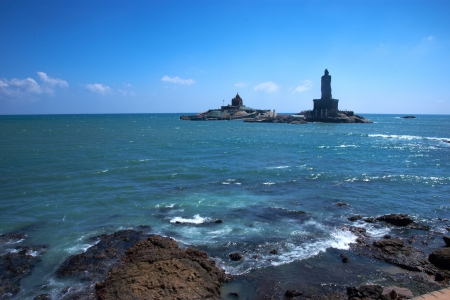 Thiruvalluvar statue, Kanyakumari, Tamilnadu, India photo
