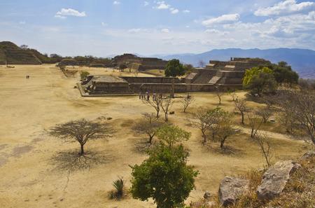 Monte Alban site in Oaxaca, Mexico photo
